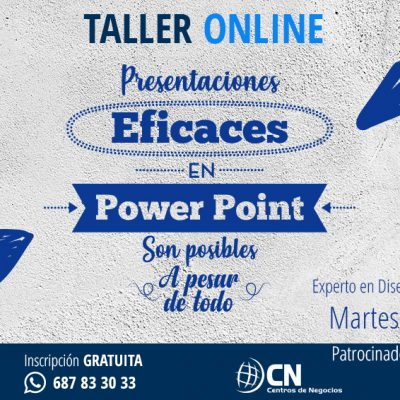 Taller Online: Presentaciones eficaces en Power Point, son posibles… A pesar de todo