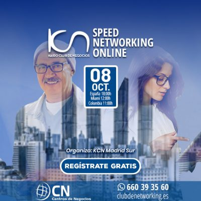 SPEED NETWORKING. Multiplica tu Red de Contactos. 8-Oct.