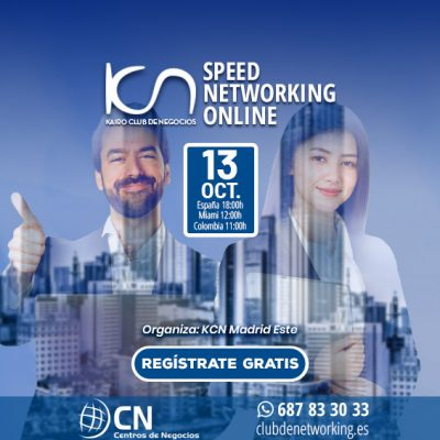 SPEED NETWORKING. Multiplica tu Red de Contactos. 13-Oct.