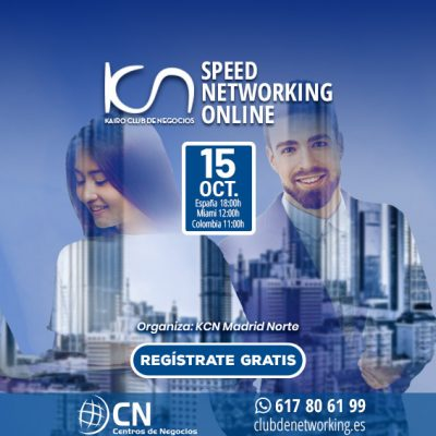 SPEED NETWORKING. Multiplica tu Red de Contactos. 15-Oct.
