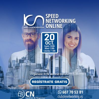 SPEED NETWORKING. Multiplica tu Red de Contactos. 20-Oct.