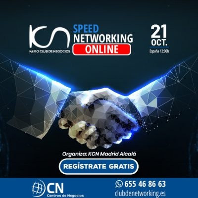 SPEED NETWORKING. Multiplica tu Red de Contactos. 21-Oct.