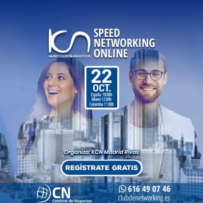 SPEED NETWORKING. Multiplica tu Red de Contactos. 22-Oct.