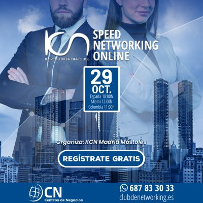 SPEED NETWORKING. Multiplica tu Red de Contactos. 29-Oct.