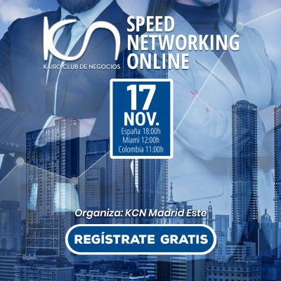 SPEED NETWORKING. Multiplica tu Red de Contactos. 17Nov