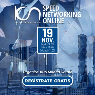 SPEED NETWORKING. Multiplica tu Red de Contactos. 19Nov.