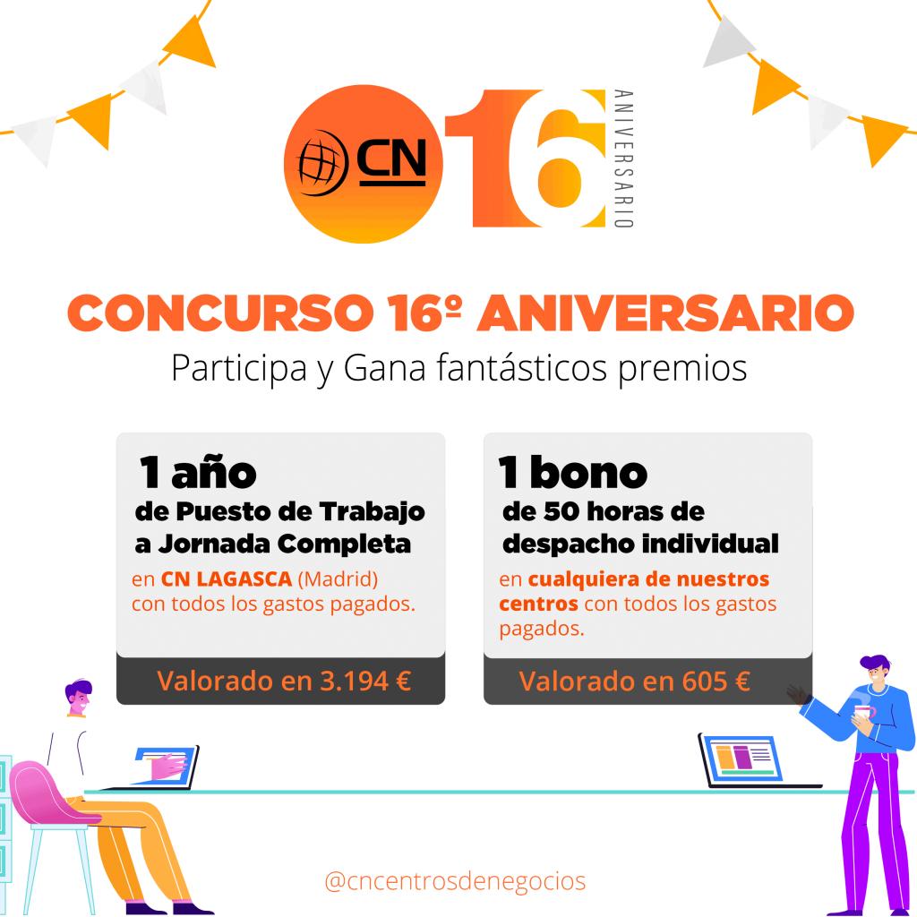 Campaña Aniversario CN centros de Negocios